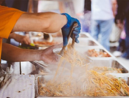 Tips for starting your own street business: street food, or street art!